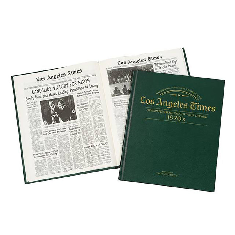 Los Angeles Times 70s Decade Book