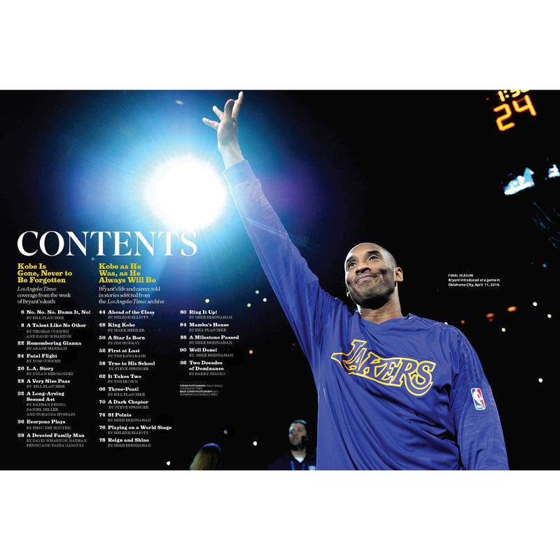Kobe Bryant Commemorative Magazine