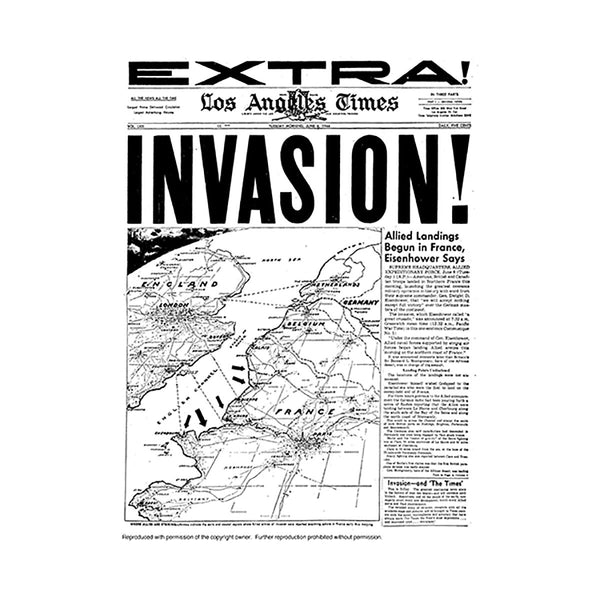 Historical Front Page - Invasion