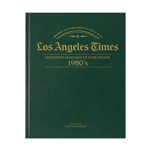 Los Angeles Times 80s Decade Book