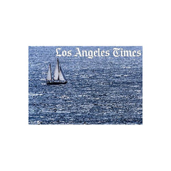 California Coast Sailboat Photograph