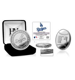 Los Angeles Dodgers Silver Mint Coin