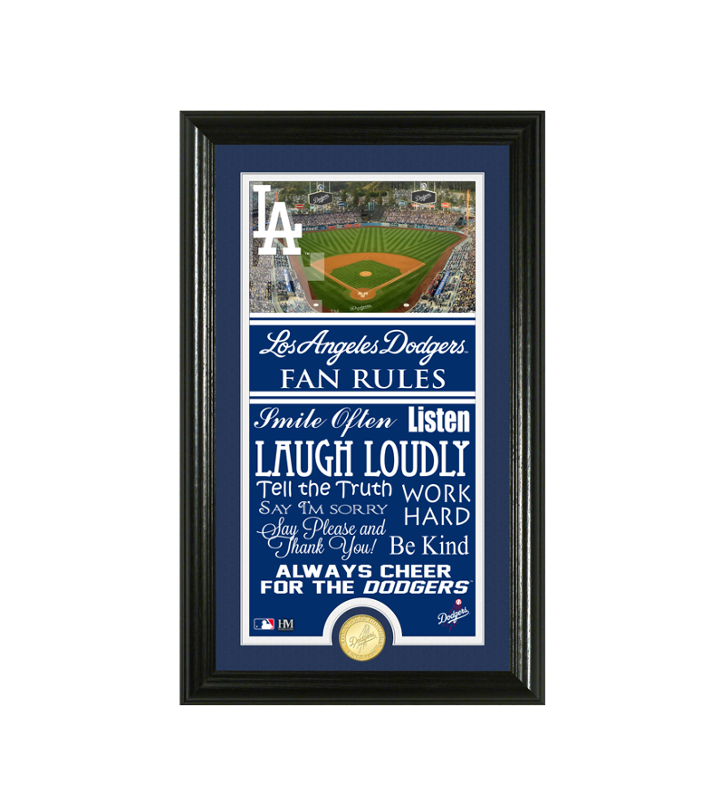 Los Angeles Dodgers Fan Rules