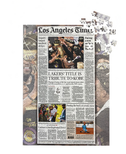 NBA Championship Front Page Puzzle