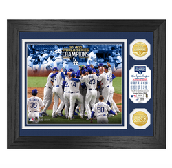"Dodgers 2020 World Series Champions ""Celebration"" Bronze Coin Photo Mint"