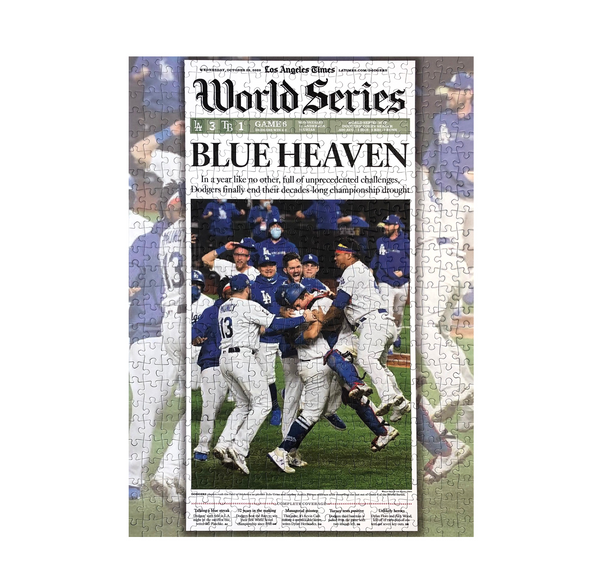 World Series Championship Front Page Sports Puzzle