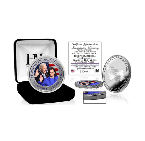 Inauguration Silver Mint Coin