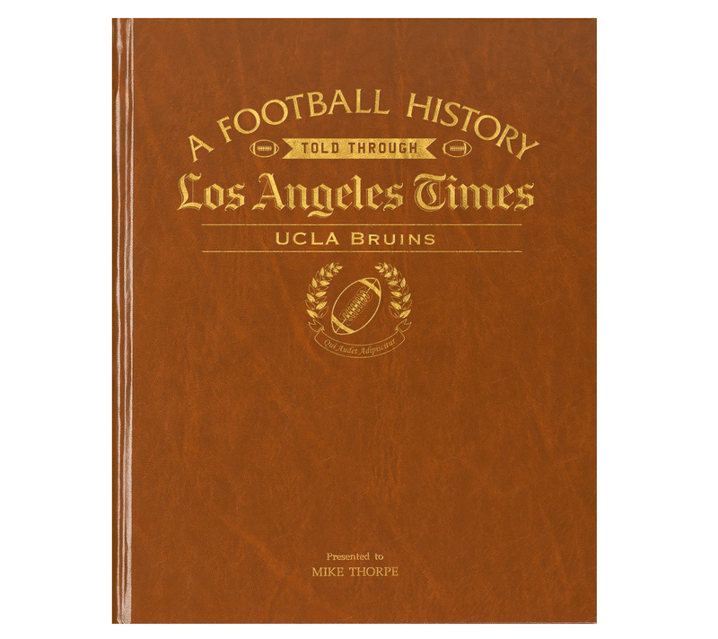 UCLA Bruins Newspaper Book