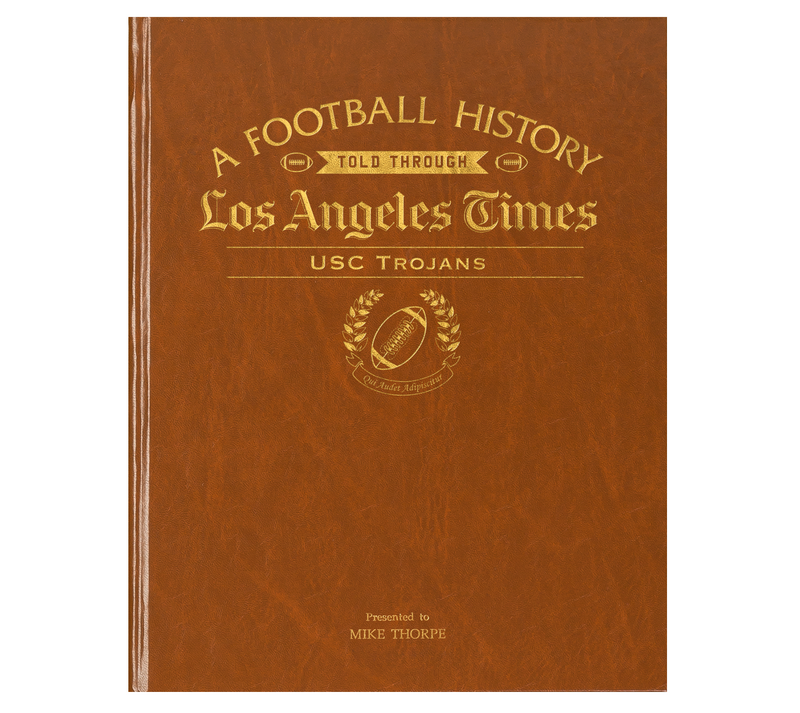 USC Trojans Newspaper Book