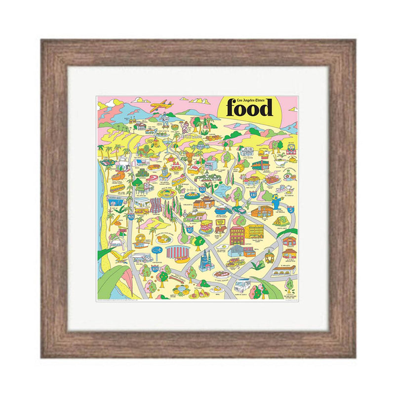 Los Angeles Times Food Map