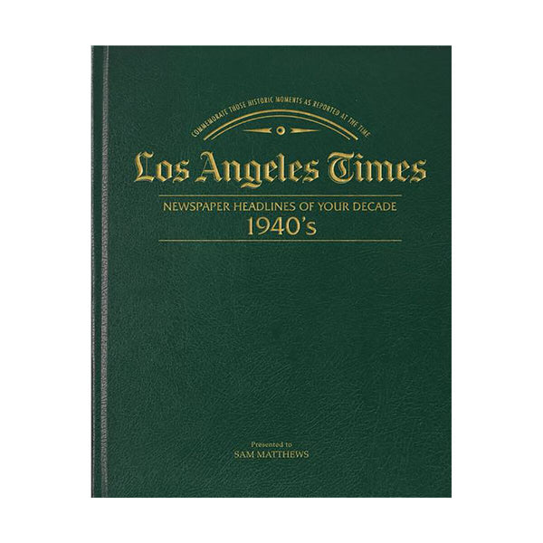 Los Angeles Times 40s Decade Book
