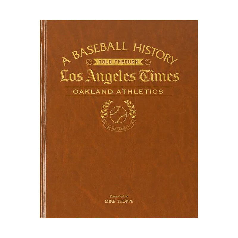 Los Angeles Times Oakland Athletics Newspaper Book