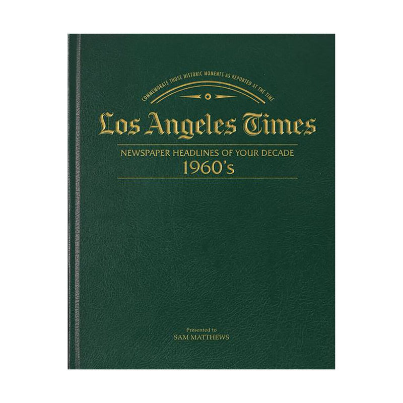 Los Angeles Times 60s Decade Book