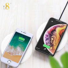 Load image into Gallery viewer, PC Qi Wireless Charger Dock Charging Pad For iPhone 11 Pro Max XS X 8 8Plus 7 6s