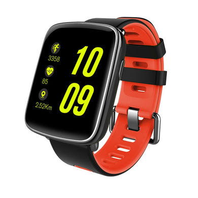 GBB GV68 Waterproof Sport Smart Watch Phone Mate Touch Screen Bluetooth for iOS Android Phone, Red