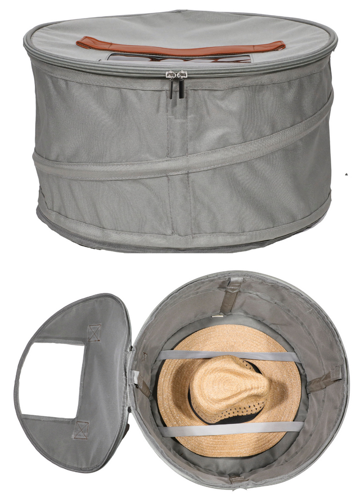 Hat Storage and Travel Box | Grey
