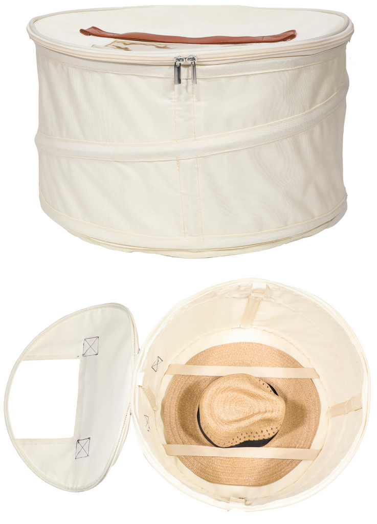 Hat Storage and Travel Box | Ivory