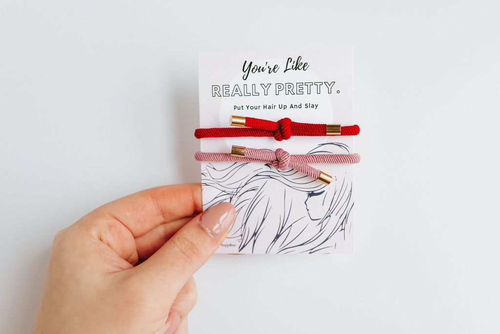 "Elastic Hair Tie | ""Really Pretty"" 