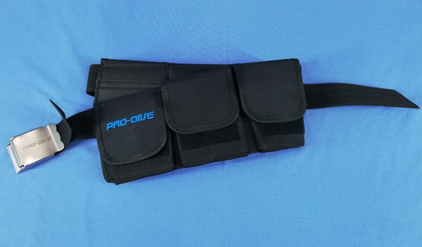 Comfy pocket weight belt