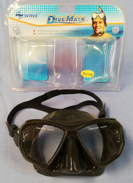 Wave Mask black