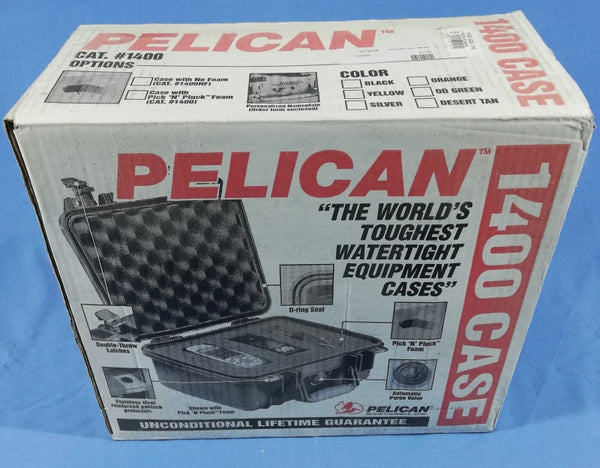 Pelican 1400 case black
