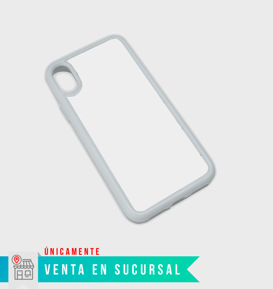 Case de silicón sublimable para Iphone X $40 pesos - STM Robotics
