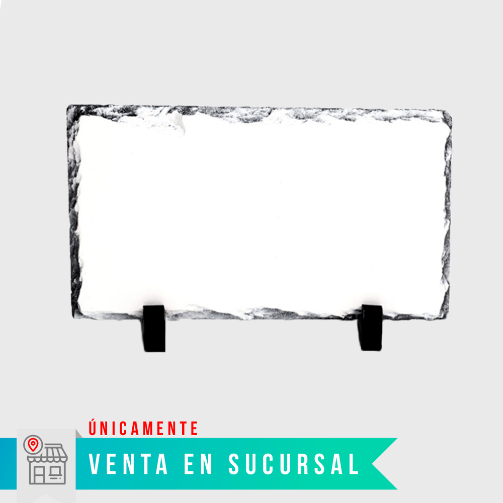 Piedra sublimable 15x20cm $65 pesos - STM Robotics