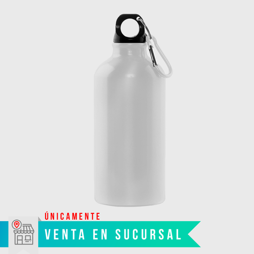 Botella de Aluminio Sublimable — 750ml $75 pesos