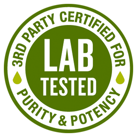 cbd purity and testing seal