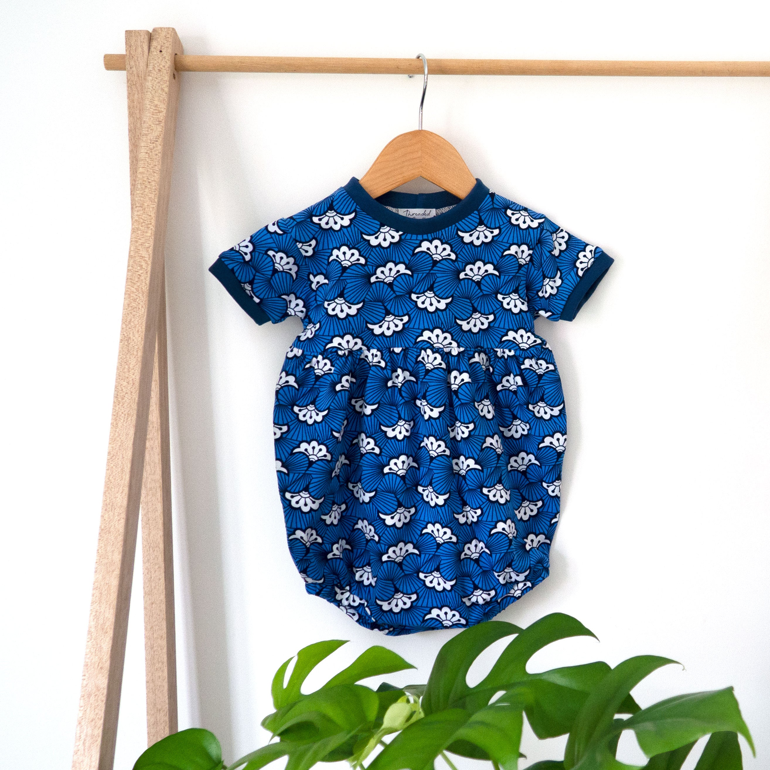 Hue of Blue Playsuit