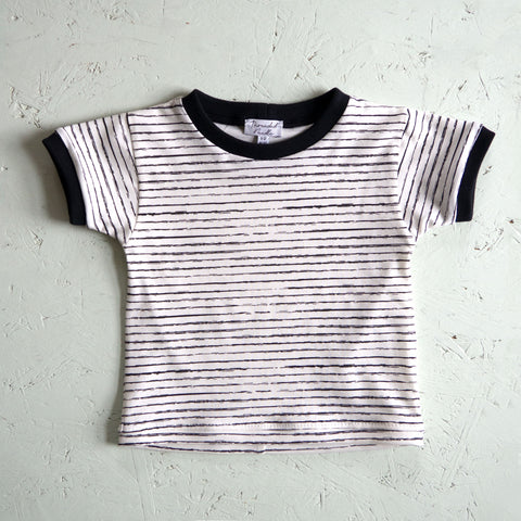 Monochrome Stripe T-shirt
