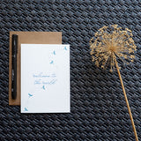 Dragonfly Welcome to the World Newborn Card