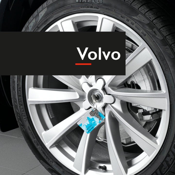 Rimgard wheel lock for Volvo