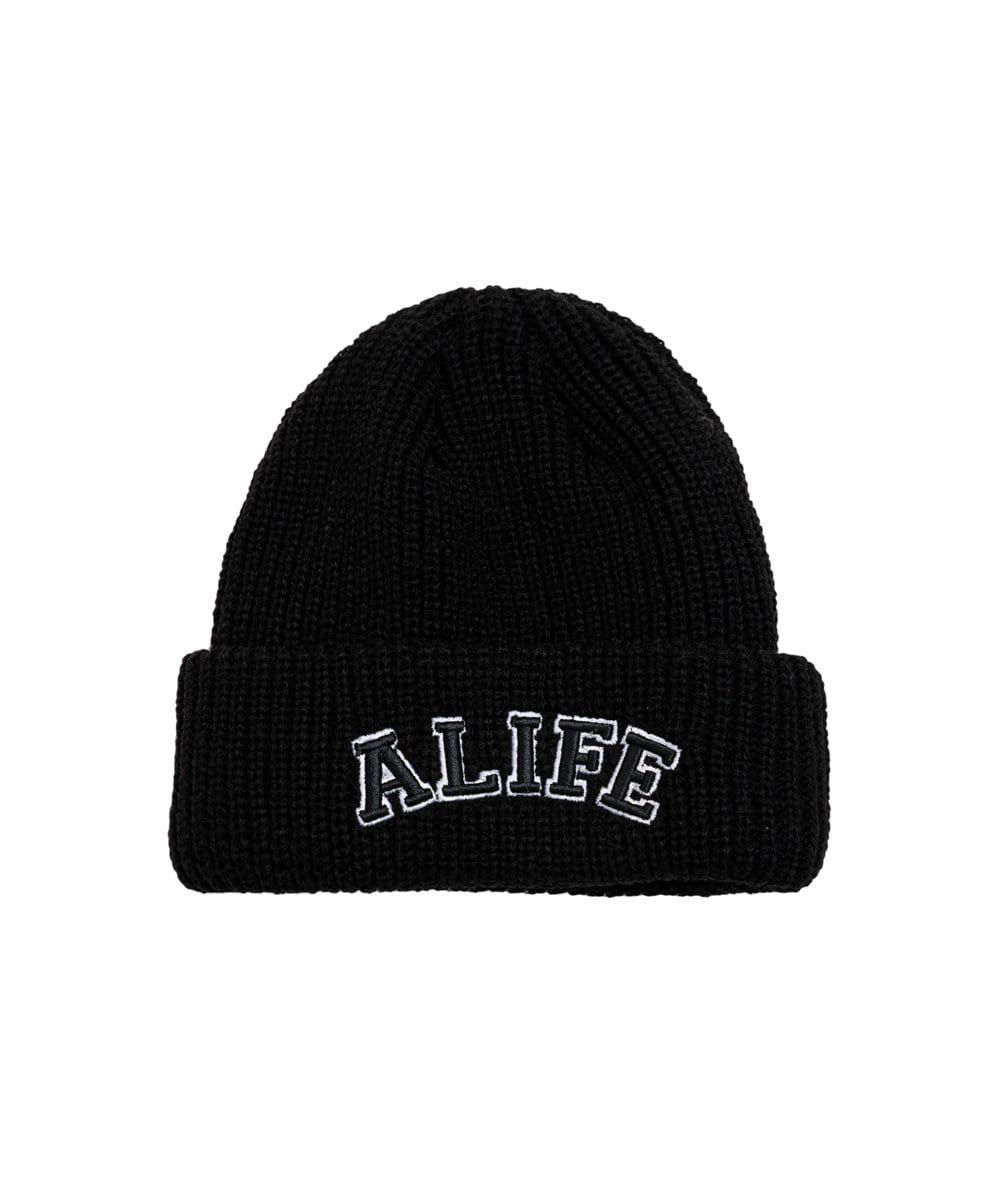 Alife Collegiate Beanie - Black