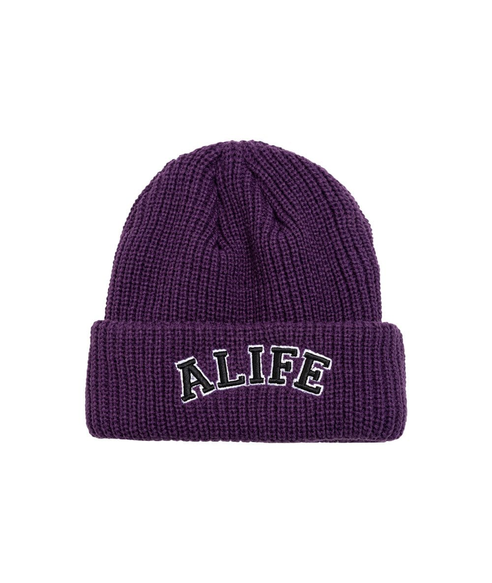 Alife Collegiate Beanie - Purple