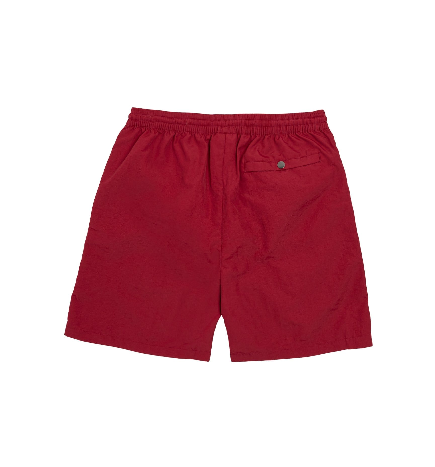 Alife Swim/Run Nylon Shorts - Maroon