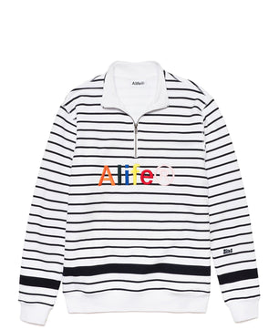 Alife Striped Pullover Fleece