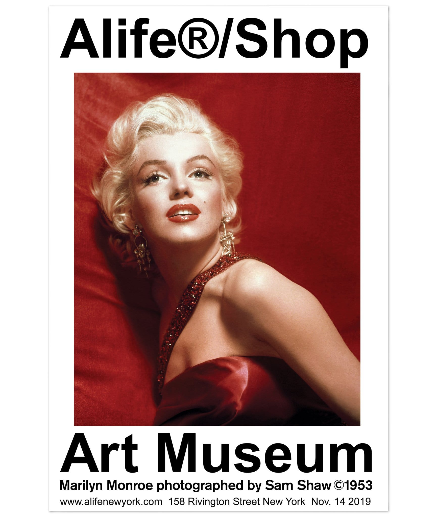Alife®/Shop Art Museum Marilyn Monroe Poster