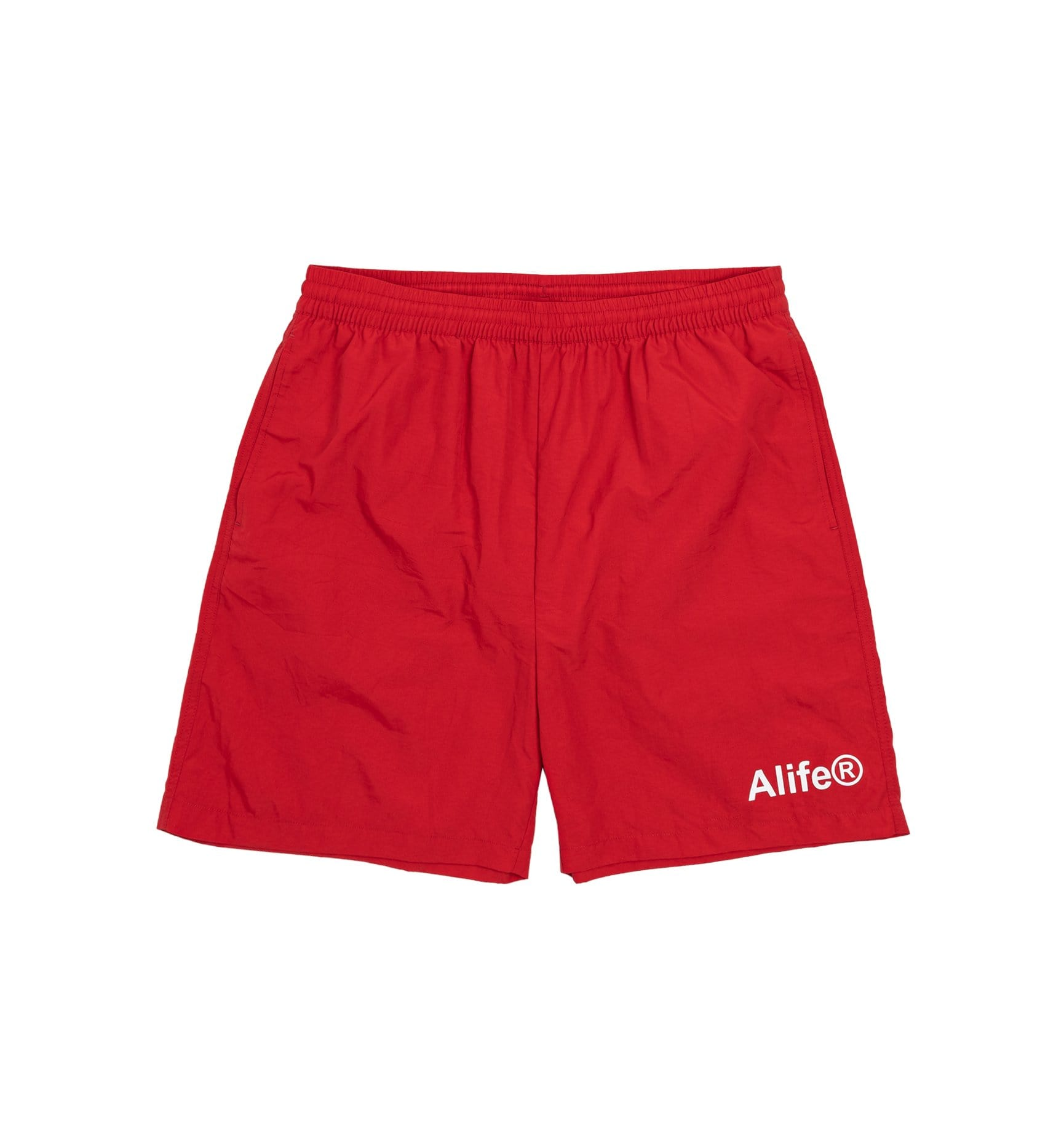 Alife Swim/Run Nylon Shorts - Red