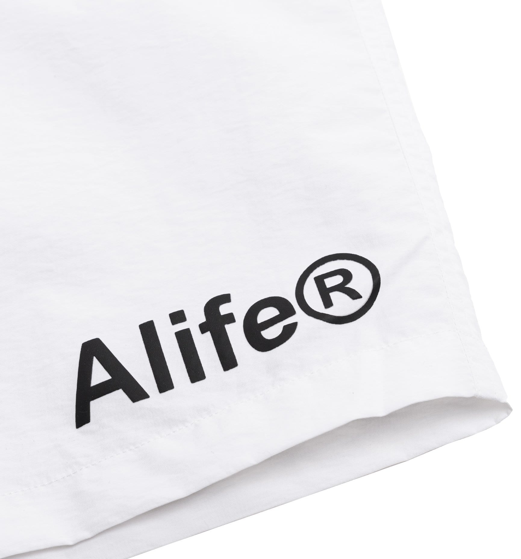 Alife Swim/Run Nylon Shorts - White