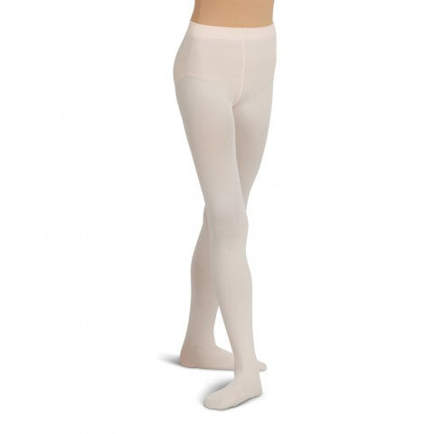 1915 Capezio Women's Ultra Soft Self Knit Waistband Footed Tight