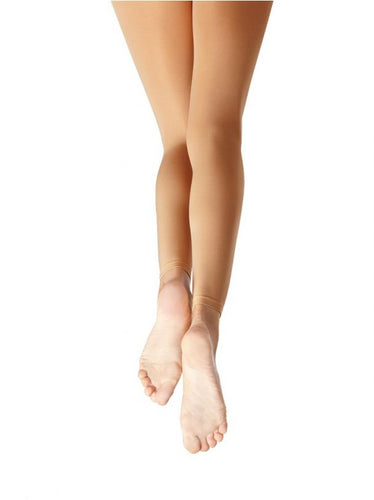 1917C Capezio Girl's Ultra Soft Footless Tight