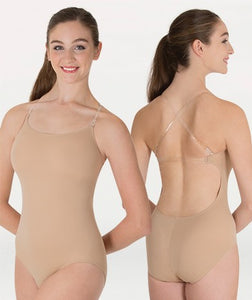 277 Bodywrappers Adult Totalstretch Ultra Low Back Camisole Convertible Bodyliner