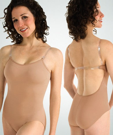 285 Bodywrappers Adult Totalstretch Convertible Bodyliner with Concealed Inside Padded Cup Bra