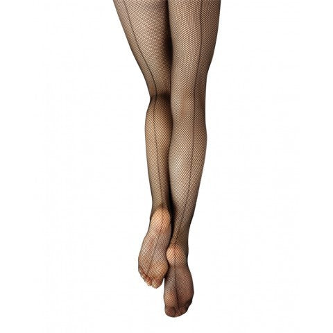 3408 Capezio Women's Studio Basic Fishnet Tight with Seams