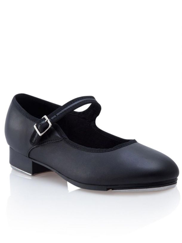3800C Capezio Children Mary Jane Tap Shoe (Black)