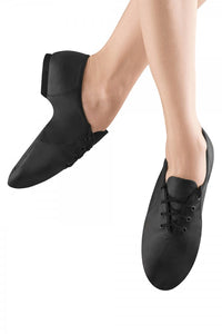 S0405 Bloch Jazzsoft Lace Up Jazz Shoe (Black)