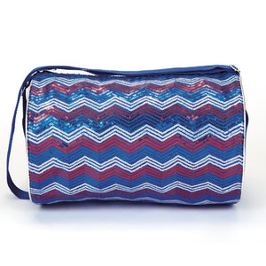 4970 Dasha Chevron Sequin Duffle