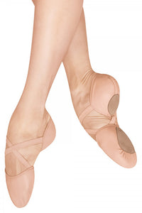 ES0250 Bloch Elastosplit X Leather Ballet Slipper