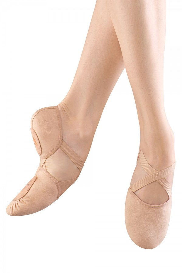 ES0251 Bloch Elastosplit X Canvas Ballet Slipper
